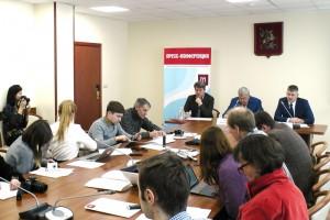 Пресс-конференция, посвященная итогам работы Центра экспертиз, исследований и испытаний в строительстве