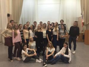 Студенты на репетиции