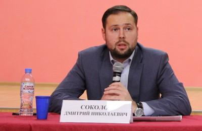 И.о. главы управы Донского района Дмитрий Соколов