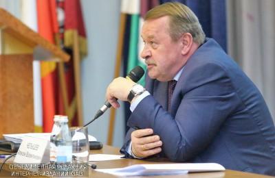 Жители ЮАО в июне смогут задать вопросы префекту Алексею Челышеву