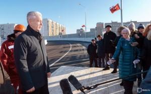 Сергей Собянин рассказал о строительстве путепроводов в Новой Москве