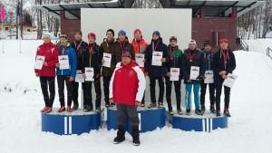 Спортсмены школы олимпийского резерва №49