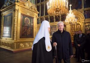 Сергей Собянин рассказал о реставрации храмов и монастыре в Москве