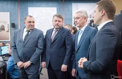 Сергей Собянин рассказал об обеспечении безопасности в столичной подземке Сергей Собянин рассказал об обеспечении безопасности в столичной подземке