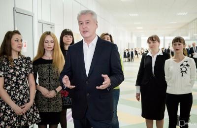 Сергей Собянин рассказал о строительстве социальных объектов в Москве Сергей Собянин рассказал о строительстве социальных объектов в Москве