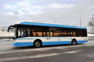 На улицы Москвы вышел первый электробус отечественного производства
