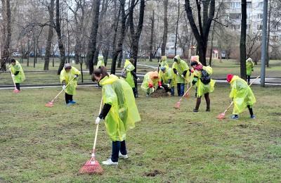 Жители Москвы выйдут на весеннюю уборку городских парков