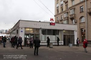 """Северный вестибюль станции """"Ленинский проспект"""""""