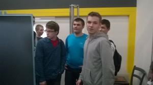 Школьники района на занятии в МГТУ им. Баумана