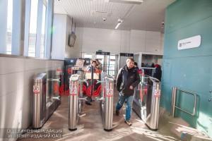 Реверсивные турникеты вдвое сократят время прохода пассажиров МЦК