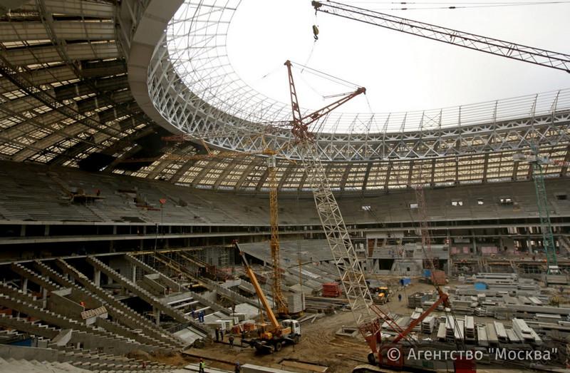Реконструкцию БСА «Лужники» планируют закончить в 2017-ом