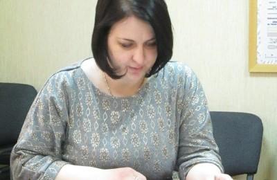 Заместитель главы управы по работе с населением Сафонова Ольга Юрьевна