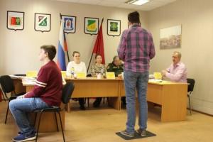 Заседание призывной комиссии Донского района
