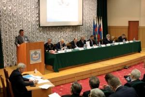 Отчетный съезд конференции Союза транспортников России в МГАВТ