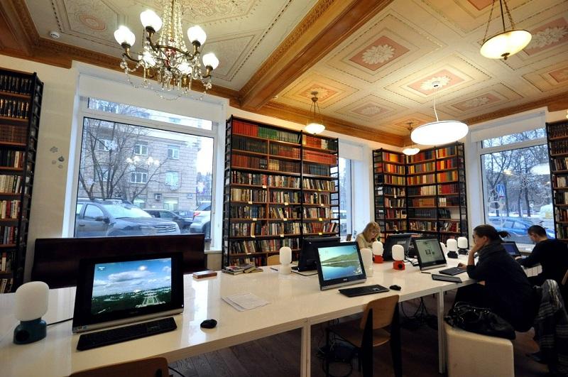 В библиотеке №166