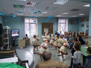"""Выступление артистов ЦДС """"Донской"""" на акции """"Библионочь"""""""