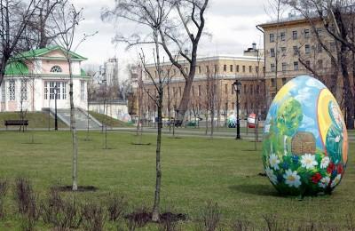 У здания Мосгордумы на Страстном бульваре открылся новый парк