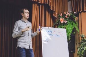 Руководитель медиацентра Горцентра Алексей Трубин