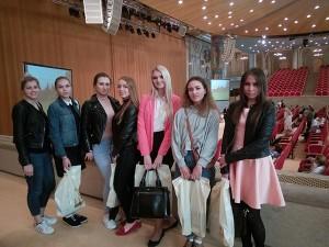 Студенты РГУ на экскурсии