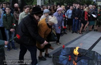 На митинге памяти в районе