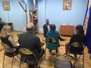 Встреча общественных советников