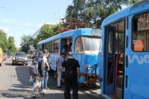 Трамвай в Донском районе