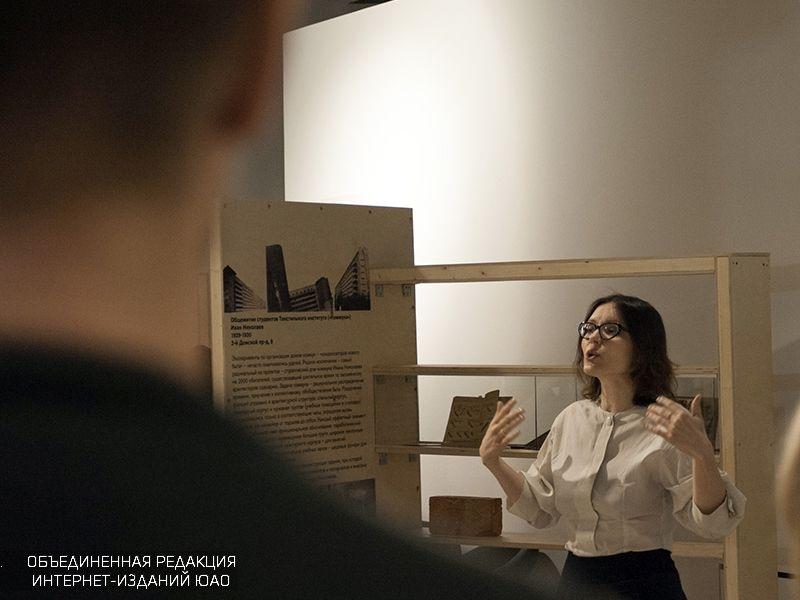 """Лекция в галерее """"На Шаболовке"""""""