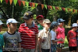 В детском лагере