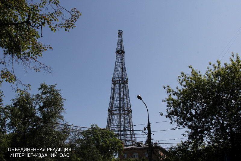 Шуховская башня в Донском районе