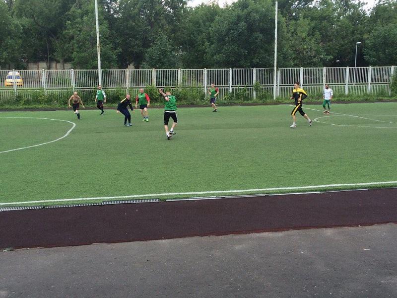 Турнир по футболу в районе