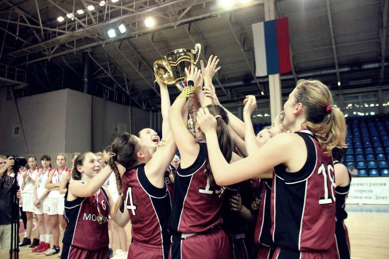 Сборная Москвы по баскетболу на Спартакиаде