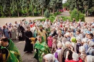 Престольный день в храме прп. Серафима Саровского