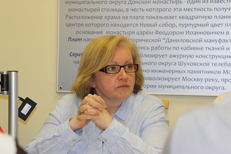 Депутат муниципального округа Екатерина Николаева