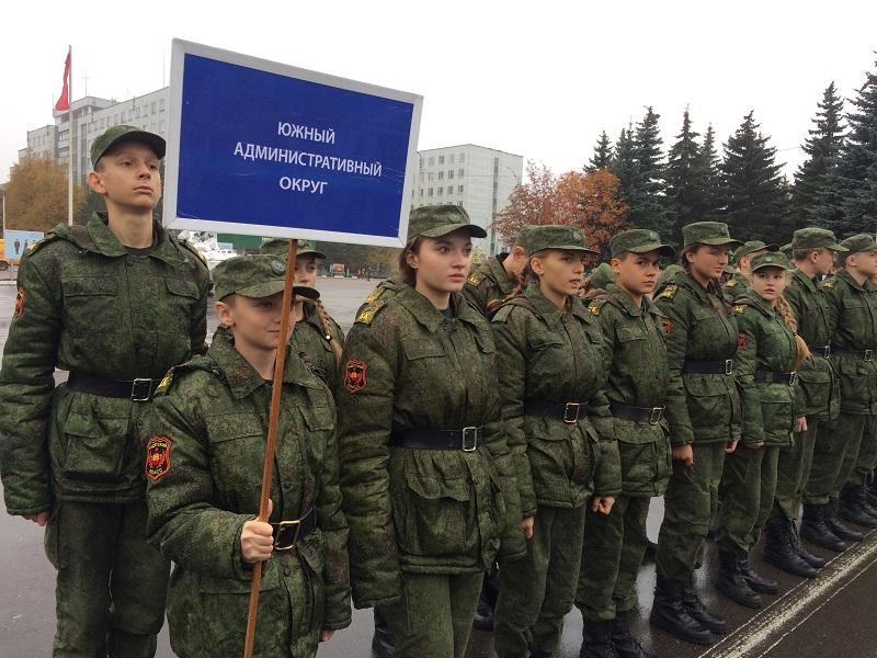 Призывники Донского района