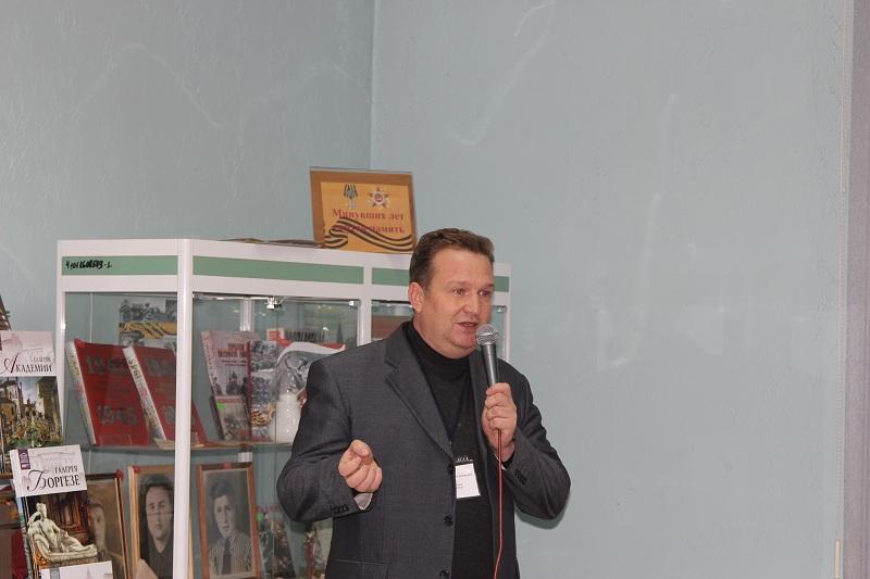 Депутат Вячеслав Резков