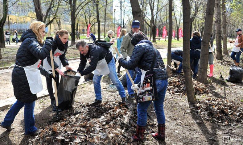 Масштабную уборку организуют в парке района