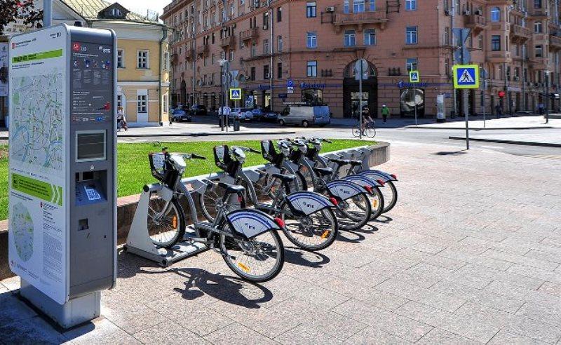 """Жители района смогут арендовать велосипед по новому """"тарифу для болельщиков"""""""