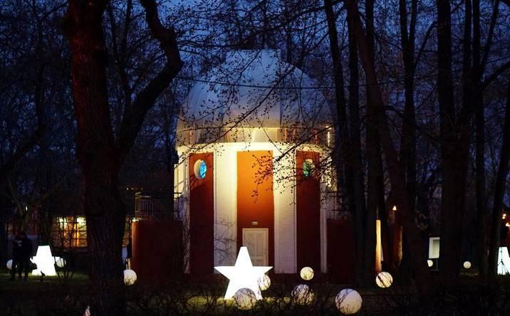 Ночной пленэр пройдет в Парке Горького