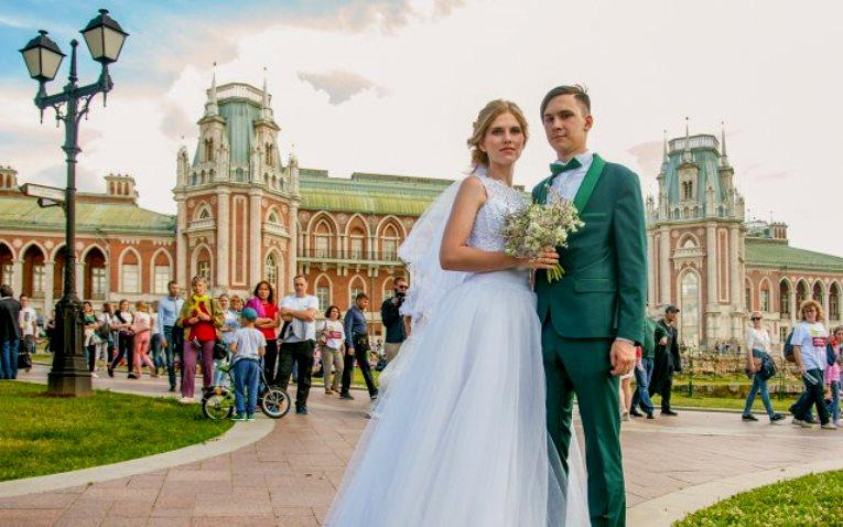 """Шипиловский отдел ЗАГС """"поженит"""" 37 пар в День города"""