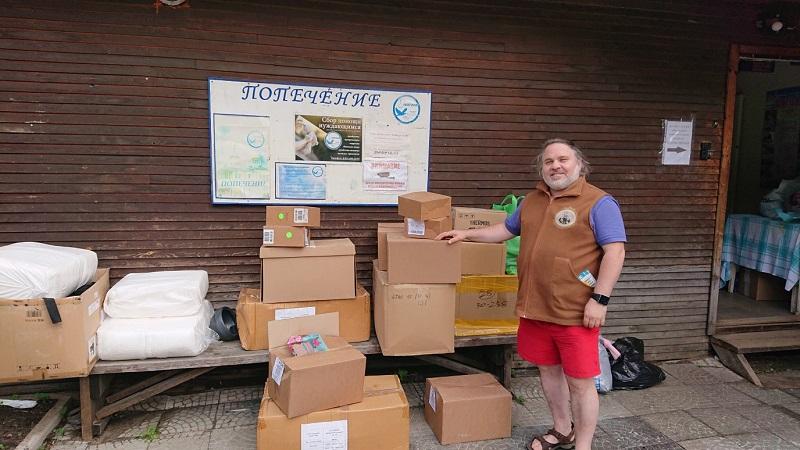 Александр Гезалов Социальный Центр Святителя Тихона гуманитарная помощь Карелия