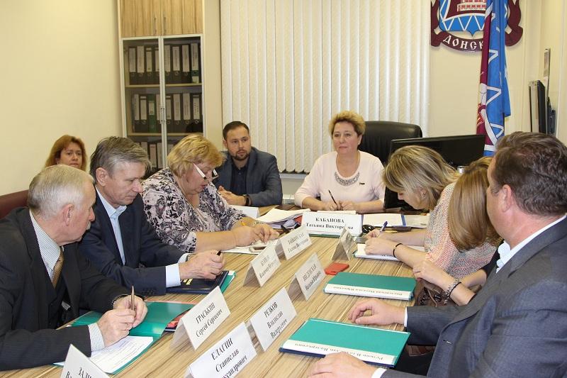 заседание, Совет депутатов, заседание Совета депутатов, Татьяна Кабанова