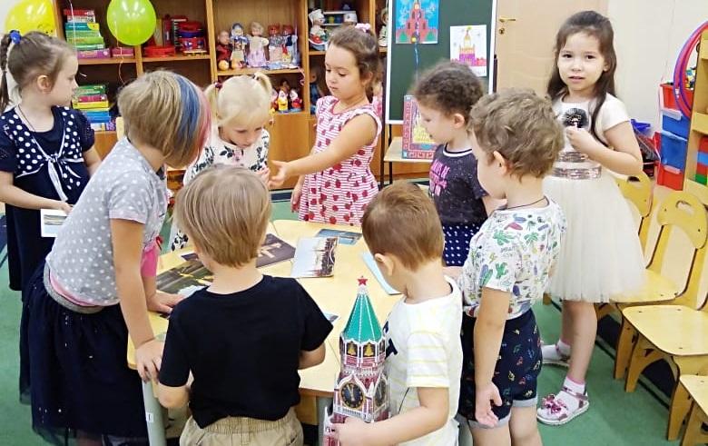 872-летие Москвы, День города, дошкольники, Школа № 630 Диана Кашицына