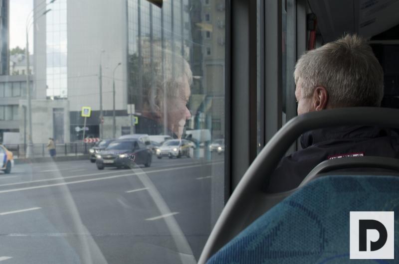 трамвай, автобус, транспорт, остановка, мосгортранс