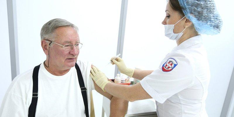 поликлиника № 67, Алексей Хрипун, вакцинация от гриппа,