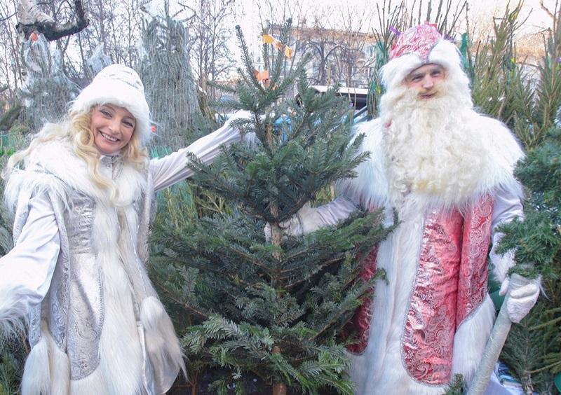 Елочный базар, Мария Торопова, Новый год