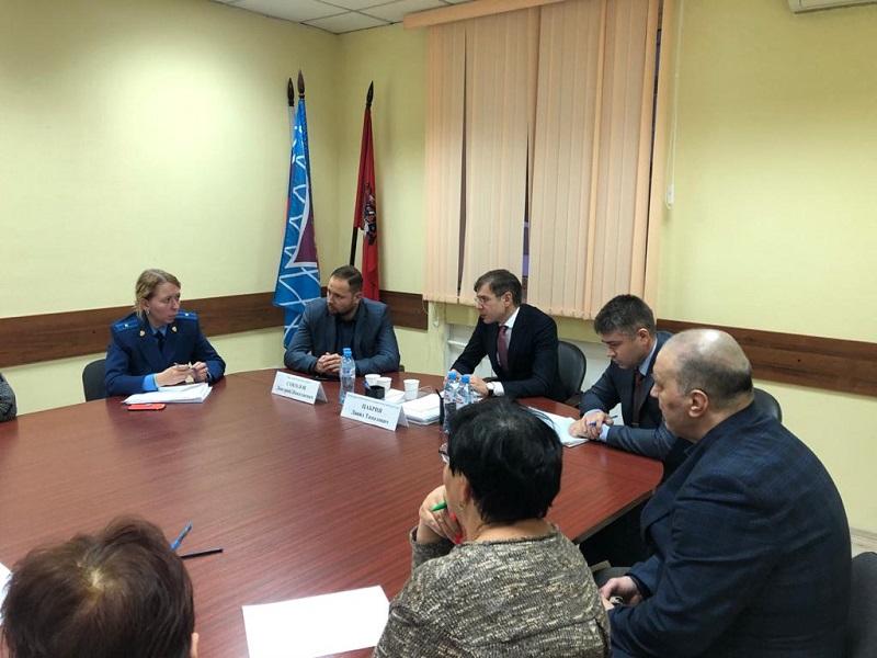 встреча с жителями, Давид Цабрия, Дмитрий Соколов, Михаил Затонский