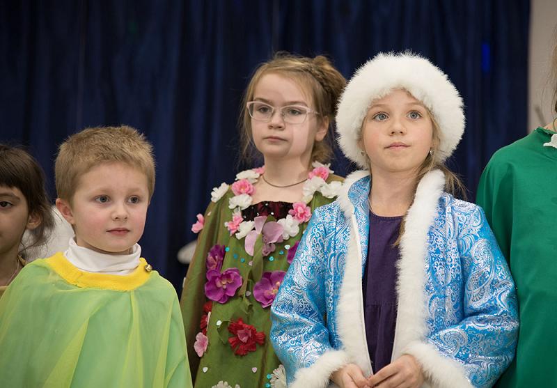 Донской монастырь, детский спектакль, Василиса Зуева, студия при храме преподобного Сергия Радонежского