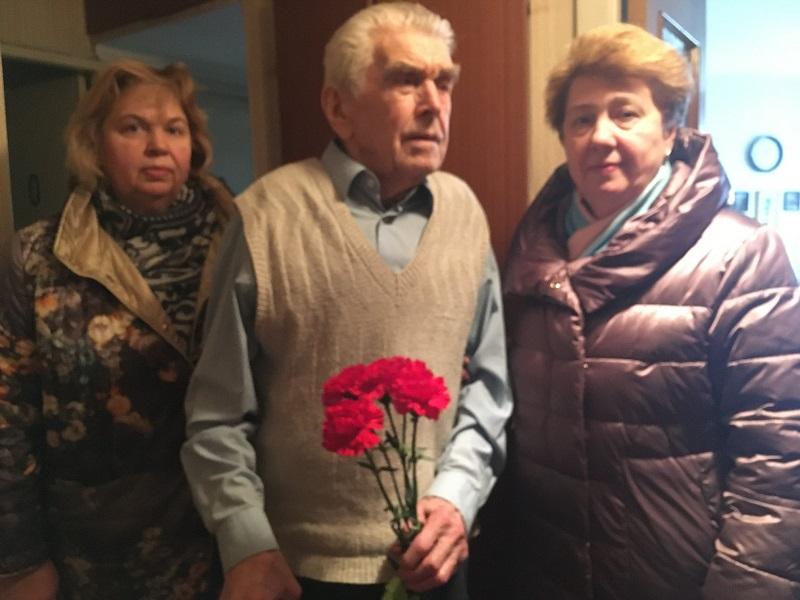 Галина Зайковская, 75-летие победы, ветеран ВОВ,
