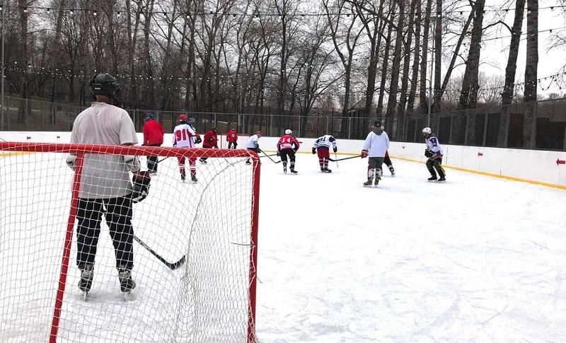Центр досуга и спорта «Донской», молодежный хоккей, День защитника Отечества,