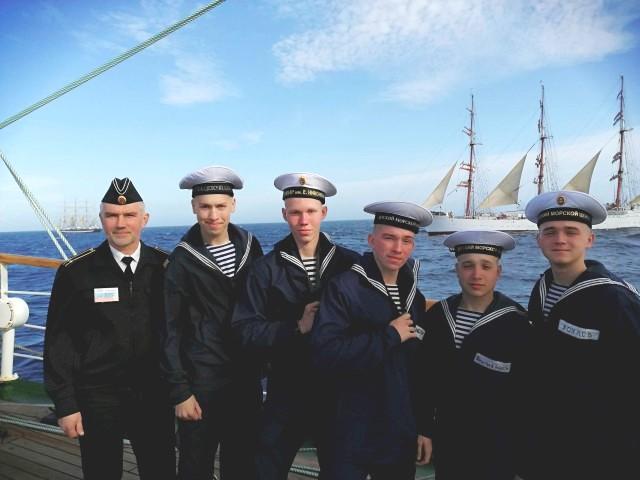 школа № 630, Марина Картышова, кадеты, моряки,